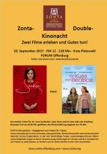 ZC Offenburg | Zonta Double Kinonacht