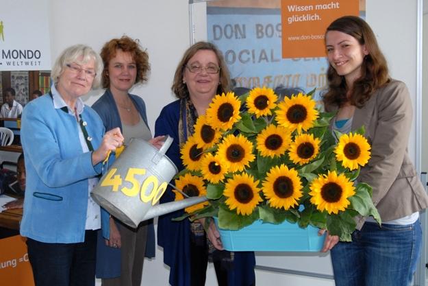 Weingarz Bonn zonta bonn rheinaue überreicht spende 4500 an don