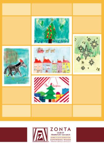 Weihnachtskarten Deutschland.Zc Frankfurt Am Main I Weihnachtskarten Zonta In Deutschland